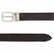 Cinturón reversible trenzado