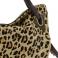 Maxi bolso piel lisa y leopardo marrón 104480