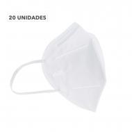 KN95 Mascarilla COVID-19 20 UNIDADES