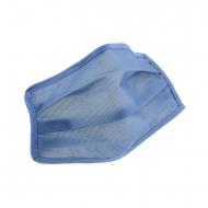 Mascarilla higiénica reutilizable infantil azul