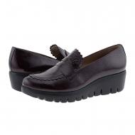 Zapatos C-33223 piel charol burdeos Wonders