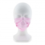 Pack diez mascarillas quirúrgicas infantiles rosas