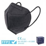 Caja 25 mascarillas negras FFP2 - Homologadas CE