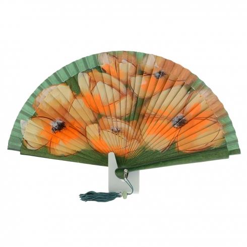 https://cache.paulaalonso.es/11854-114685-thickbox/abanico-madera-verde-diseno-flores-naranjas.jpg
