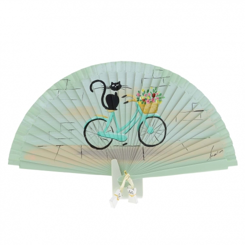 https://cache2.paulaalonso.es/11862-114701-thickbox/abanico-vintage-verde-bicicleta-y-gato-negro.jpg