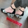 Zapatos piel negros pala-talón I-8002 Wonders 117552