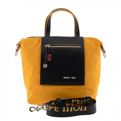 https://cache2.paulaalonso.es/12052-115759-thickbox/bolso-mano-lona-amarilla-y-sintetico-negro.jpg