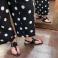Sandalias de dedo piel ante negro Plumers 117395