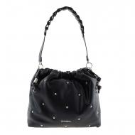 Bolso negro estilo saco WB-46160 Wonders