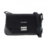 Bolso bandolera negro WB-46151 Wonders