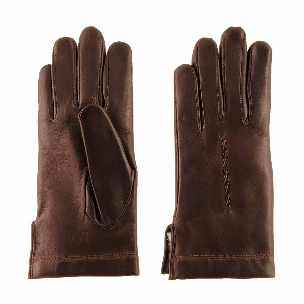 guantes piel negra forro conejo accesorios mujer online
