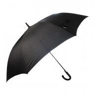 Paraguas largo negro automático
