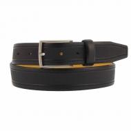 Cinturón piel italiano con mini puntitos