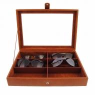 Estuche tapa cristal para seis gafas